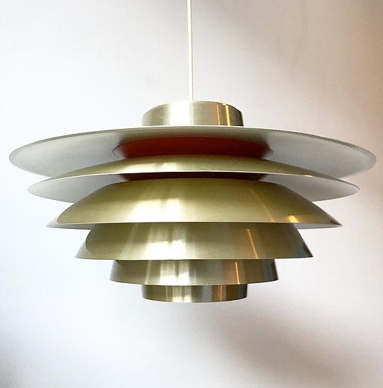 Svend Middelboe Lamp Verona Pendant Brass 60s
