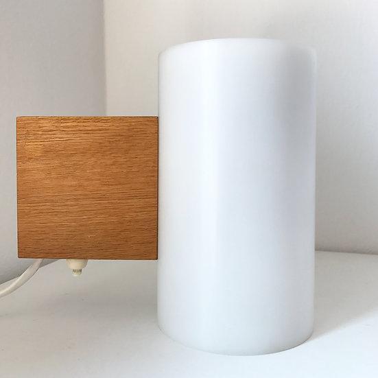 Uno & Östen Kristiansson Wall Lamp Oak & Acrylic