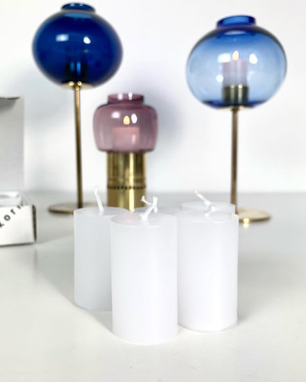 Box of Eight Candles for Hans-Agne Jakobsson Candle Holders