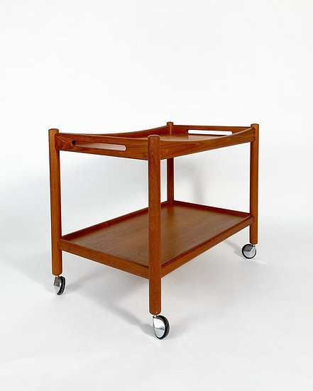 Hans Wegner Bar Cart Teak 1960s