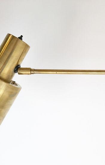 Jo Hammerborg Wall Lamp Brass Horisont