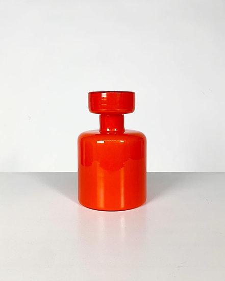 Luciano Vistosi Bottle Decanter Murano Glass 1960s