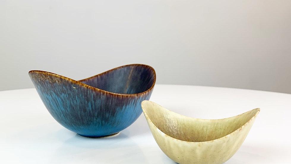 Gunnar Nylund ARO Stoneware Bowls Rörstrand 50s