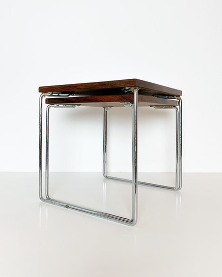 Rosewood Side Tables by Brabantia 1960s