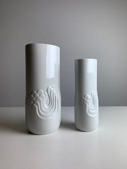 Pair of Rosamunde Nairac Blütenfest Vases Thomas 1960s
