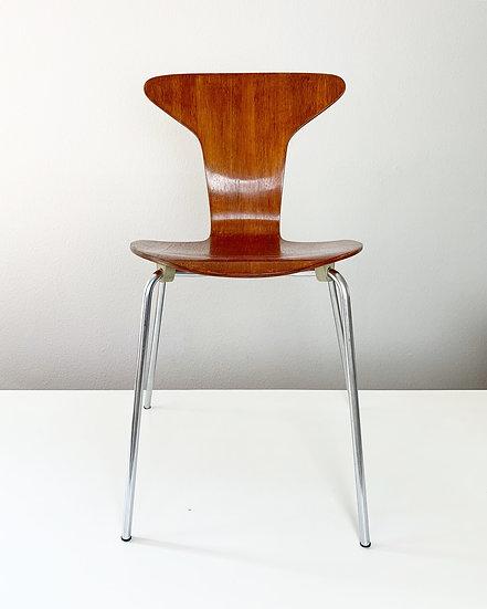Arne Jacobsen Mosquito Chair Teak Fritz Hansen 1965