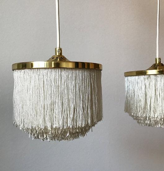 Pair of Hans-Agne Jakobsson Fringe Lamps 60s
