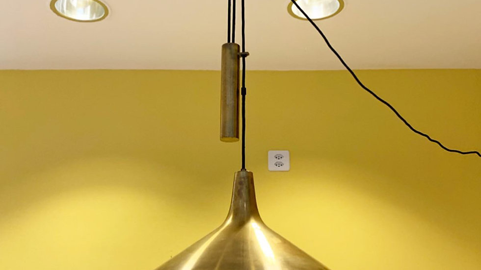 Counterweight Lamp Th. Valentiner Denmark 1960s