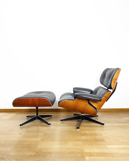 Charles & Ray Eames Lounge Chair Herman Miller by Vitra 1970s