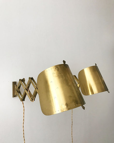 Pair of Alfred Müller Wall Lamps AMBA Brass 1940s
