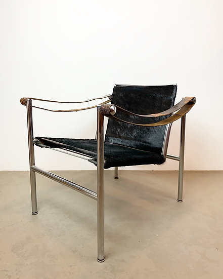 Early Le Corbusier Lounge Chair LC1 Cassina 1960s