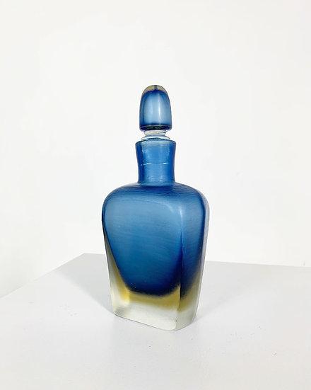 Paolo Venini Incisi Bottle Venini Murano 1956-57