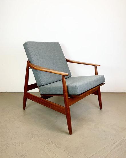 Poul Volther Lounge Chair 340 Frem Røjle 60s
