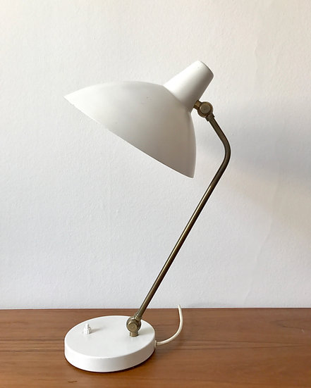 Alfred Müller Table Lamp Adria AMBA Brass 50s
