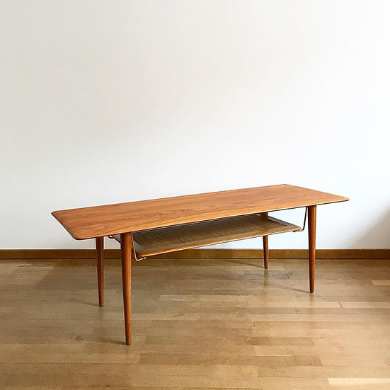 Peter Hvidt & Orla Mølgaard Nielsen Coffee Table France and Son 1950s