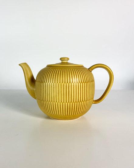 Nils Thorsson Marselis Teapot Aluminia Denmark 1962
