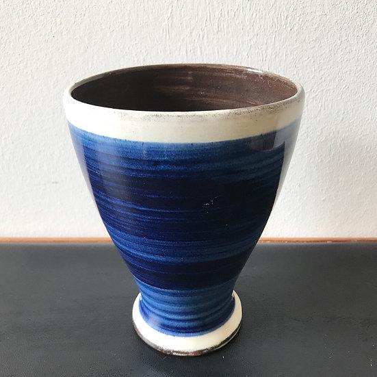 Rheinfelder Ceramic Vase Blue Glaze 40s