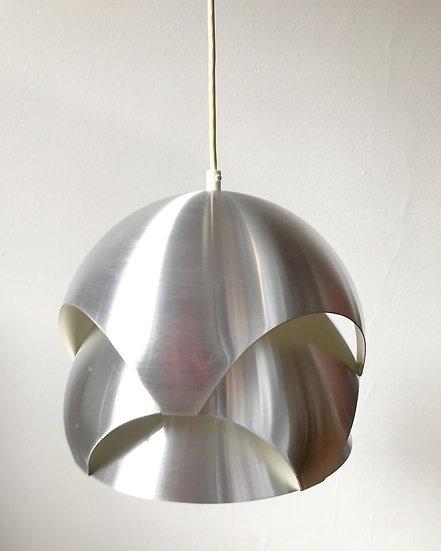Sven Ivar Dysthe Lamp Aluminum Konglependel 60s