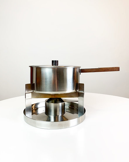 Peter Holmblad Fondue for Stelton 1960s