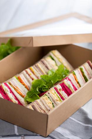 Standard assorted sandwich platter