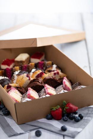 Assorted cake platter