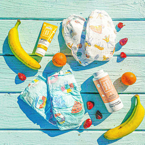 Keep Littles' Bum Dry With Hello Bello Organic Baby Powder
