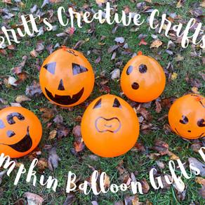 Pumpkin Balloon Gifts DIY