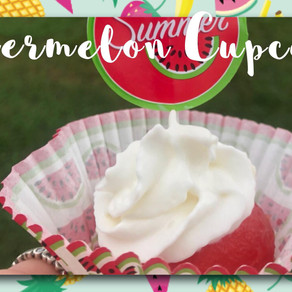 Sweet Melon Cupcakes