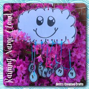 Raining Name Cloud!