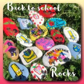 Back To School Rock Tutorial!