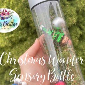 Christmas Wonder Sensory Bottle DIY