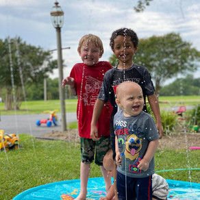 Splash, Stomp, & Rawr With The LUKAT Sprinkler