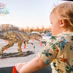 Dinosaurs Are Taking Over National Harbor On A Drive-Thru Adventure At Dinosaur Safari