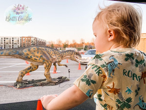 Dinosaurs Are Taking Over National Harbor On A Drive-Thru Adventure At Dinosaur Safari