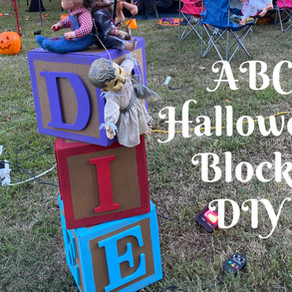 ABC Halloween Blocks DIY