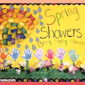 Spring Shower Board