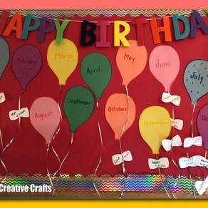Happy Birthday Balloon Board!