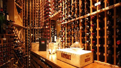 Commercial Remodel Wine Room
