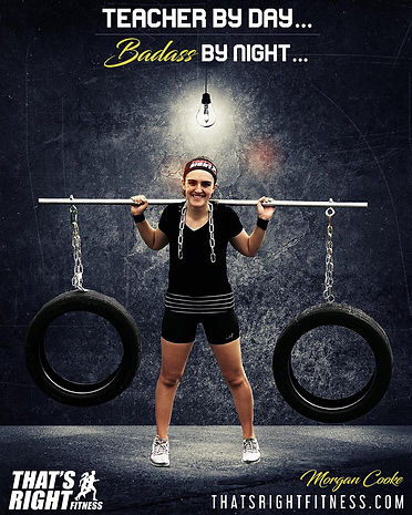That's Right Fitness Columbia, SC Morgan Cooke
