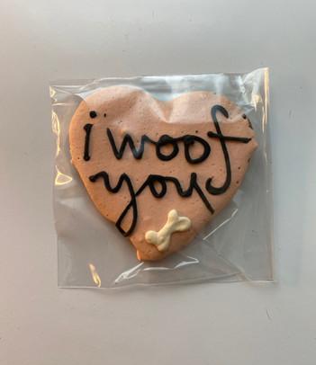 I Woof You Cookies