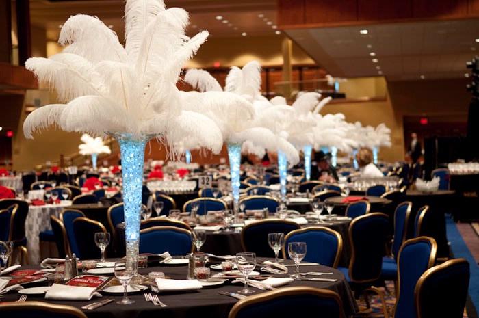 Ostrich Feather Wedding Centerpieces 407 733 3303