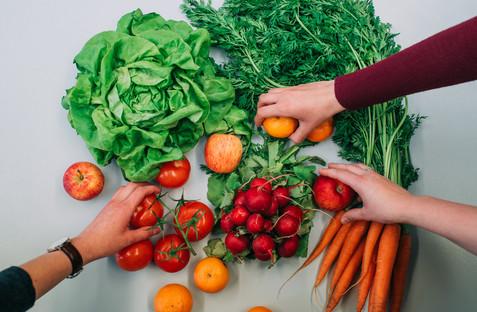 Werbefoto Gemüse