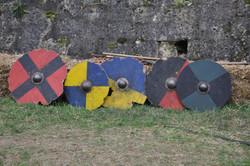 Boucliers médiévaux
