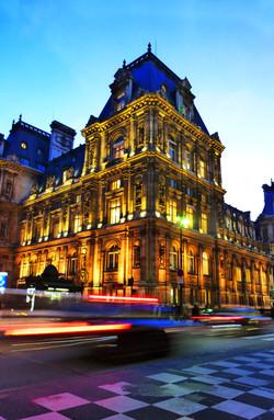 Hotel de ville à Paris