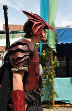 Homme a l'armure de Dragon
