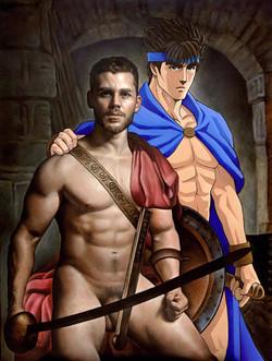 Virtual Spartan Warriors