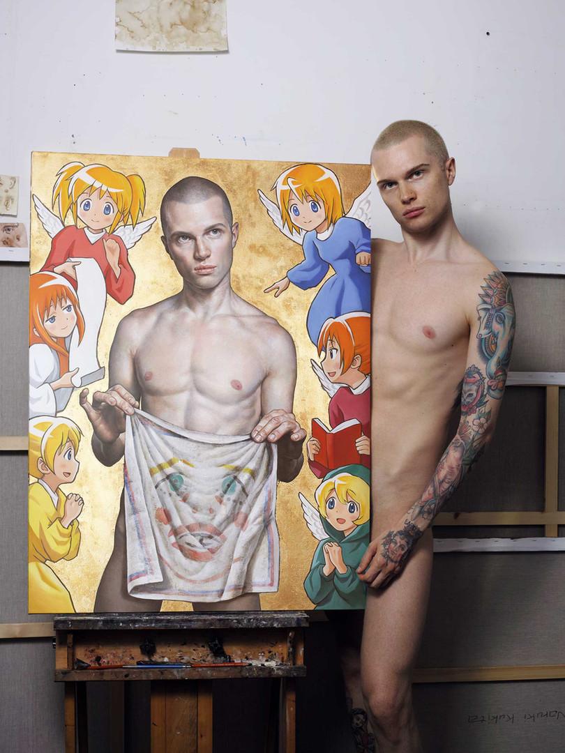 Patrick in my studio.jpg