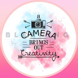 Camera Sticker — $0.10