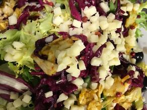 Duo De Choux et Mozzarella Salade