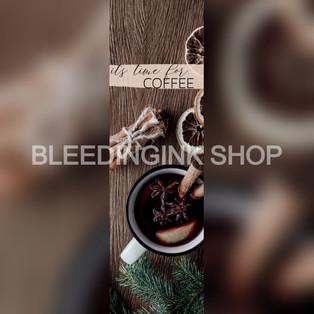 Coffee Bookmark — $0.23
